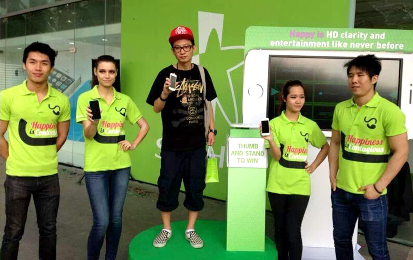 Starhub iPhone Jackpot Slot Game